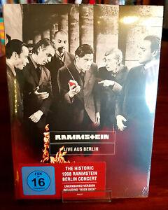 Rammstein - Live aus Berlin - DVD - Unzensierte Version Bück Dich - OVP