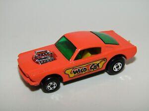 Matchbox Superfast No 8 Wildcat Dragster Bright Orange WILDCAT Very Near Mint UB