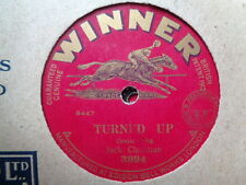 JACK CHARMAN - Turned Up / Horsey, Keep Your Tail Up 78 rpm disc