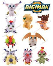 Full Set of 9 - Digimon Classic Original Mini Plush Figure Zag Toys New w/ Tags