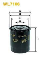 WIX FILTERS WL7166 OIL FILTER  PA516887C OE QUALITY