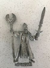 Alto Elfo Mago fuera de imprenta metal games workshop Modelo de la 1990s