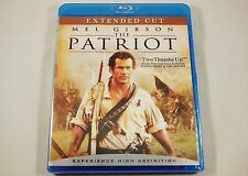The Patriot Blu-ray Extended Cut Mel Gibson, Heath Ledger, Jason Isaacs