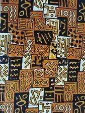 TISSU WAX AFRICAIN  100 % COTON