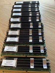 Lot of 20 TECHWORKS Apple Mac Pro Memory  667MHz DDR2 FB-DIMM ECC A2F66-E2G