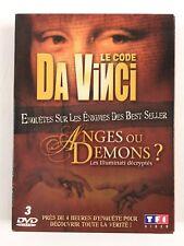 Le Code Da Vinci + Anges ou Démons Les Illuminati Décryptés Coffret 3 DVD