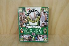 Vintage PC Game - 1995 Baseball for Windows - Broadcast Blast - CD-Rom
