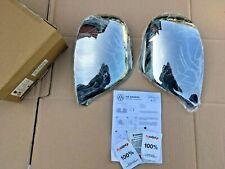 VW Amarok Polished Wing Mirror Covers - ZGB2H0071112 **Genuine New VW Parts**