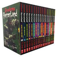 Goosebumps Horrorland Series Collection R L Stine 18 Books Box Set Slipcase NEW