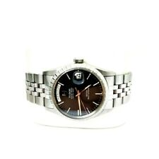Mens TUDOR Oyster Prince Date Day St. Steel Automatic Model 94510 Watch w/ Box