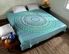 Mandala Tapestry Indian Wall Hanging Decor Bohemian Hippie Queen Bedspread-Throw