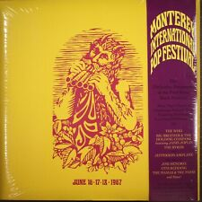 The Monterey Pop Festival, June 16-17-18, 1967 Box by Various SEALED