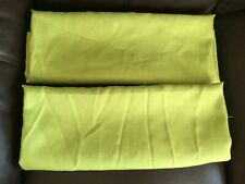 2 x Lime Green Tablecloths