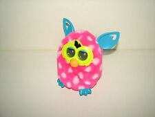 Hasbro Electronic Interactive Pet Furby Boom Pink White Polka Dots Teal 2012 B