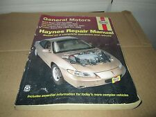 Lumina Regal  pontiac Grand prix cutlass Haynes SERVICE REPAIR MANUAL 1988 -1999