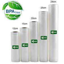 2pcs Vacuum Sealer Bags Roll 12/15/20cm*500cm Food Seal for Food Storage Bags