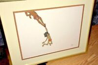 Disney Cel Jungle Book Original Animation Production Cell Mowgli Vintage 1967
