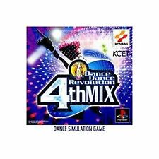 Dance Dance Revolution 4th MIX PS Import Japan