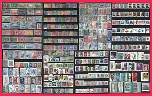 CANADA VICTORIA -MODERN SELECTION 349 STAMPS COMPLETE & PART SETS MINT USED 0303