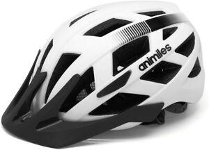 Animiles Helmet Bike Cycle MTB Urban safety Light Large 57-61cm UK ship FOC