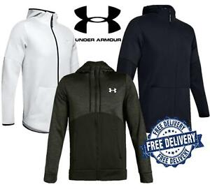 Under Armour Men's Zip Top Hoodie Gym Running Pullover UA Sports Hoody Top