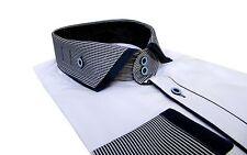 Slim-fit Hemd Button Down Muga*281*Gr.S navy blau