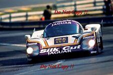 Cheever & Boesel & Lammers Silk Cut Jaguar XJR8-LM Le Mans 1987 Photograph 1