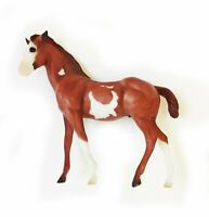 Breyer Quarter Horse Foal Chestnut Overo Classic Series Vintage #673