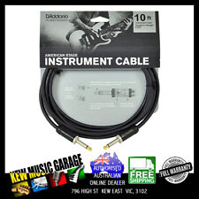 D'ADDARIO PLANET WAVES AMERICAN STAGE 10FT GUITAR / INSTRUMENT CABLE