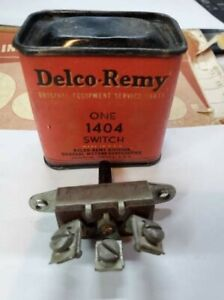 Delco Remy 1404 Dash light Switch Buick Chevrolet Truck GMC Olds1936-1946, NOS