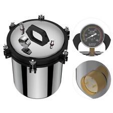 18L 220V Stainless Steel Dual Heating Pressure Steam Autoclave Sterilizer High Q