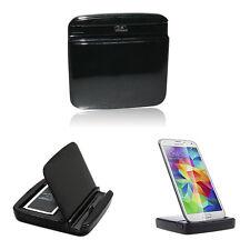 Dock Cradle Sync Charger Desktop Station for Samsung Galaxy S5 i9600 G900 Black