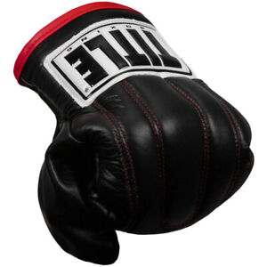Title Boxing Pro Leather 2.0 Speed Bag Gloves - Black