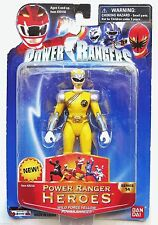 "Power Rangers Wild Force Series 14 Yellow Ranger Hero 5"" FACTORY SEALED 2006"
