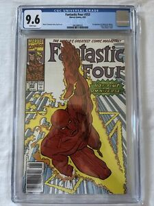 Fantastic Four #353 - CGC 9.6 NM+ NEWSSTAND! 1st appearance of Mobius M. Mobius!