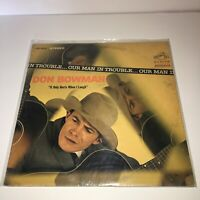 "Don Bowman ""Our Man In Trouble"" RCA VICTOR LP Vintage 1964"