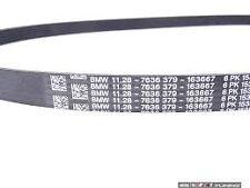 BMW Drive Belt Ribbed V-Belt 6PK1538 E46 E39 E60 E38 E65 X3 X5 E53 11287636379
