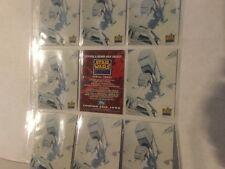1995 TOPPS Star Wars Galaxy Series Three 3 AT-AT P5 Promo Card MINT FREE SHIPPIN