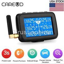U901 Auto Wireless LCD TPMS Car Truck Tire Pressure Monitoring System 6 Sensors