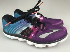 BROOKS PURE CADENCE 4 Pink/Purple/Blue Running Walking Shoes Women's Size 7M 38