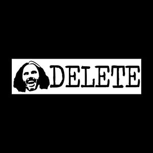Broken Matt Hardy Boys Bumper Sticker Decal Brother Nero DELETE Jeff WWE ROH TNA