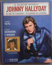 """JOHNNY HALLYDAY LA COLLECTION OFFICIELLE """"DERRIÈRE L'AMOUR""""     CD"""