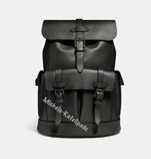 $700 NWT COACH HUDSON MEN'S BACKPACK IN Natural smooth leather F23202