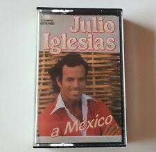 JULIO IGLESIAS 'A Mexico' Cassette Album 1983 Tape MC