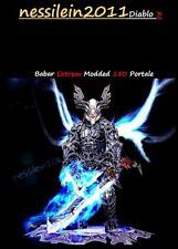 Diablo 3 - Nintendo Switch - Barbar - 150 Portale 100% Perfekt - MODDED - SC/HC