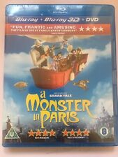 A Monster In Paris 3D Blu Ray & DVD
