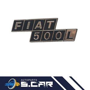 SIGLA SCRITTA POSTERIORE FIAT 500L in plastica