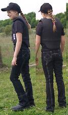 Jodhpurreithose  34 36 164 Jodpurreithose Reithose Vollbesatz Schwarz Vollbesatz