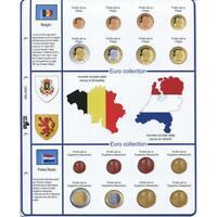 1 Sachet Masterphil Série 8 Pièces Vitesse Monnaie Belgique Et Hollande 2014
