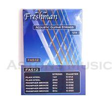 Freshman Acoustic Guitar Strings Bronze Wound Set 012 - 053